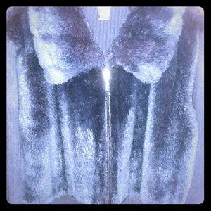 Sweaters - Black Knit Cardigan Sweater
